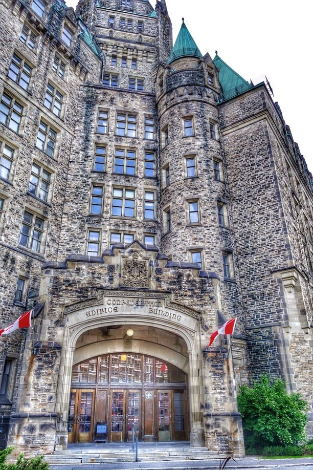 Another beautiful building in Ottawa, Ontario. Discovered by Dare to Go at Confederation Building, Ottawa, Ontario