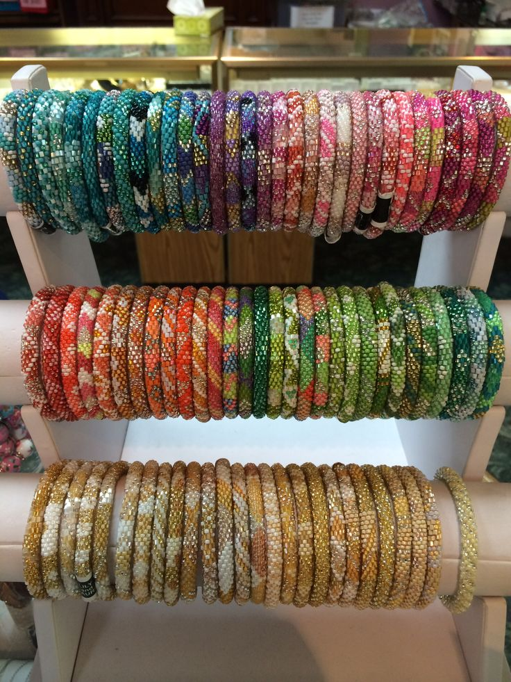 Lily and Laura bracelets from Marie's jewelry