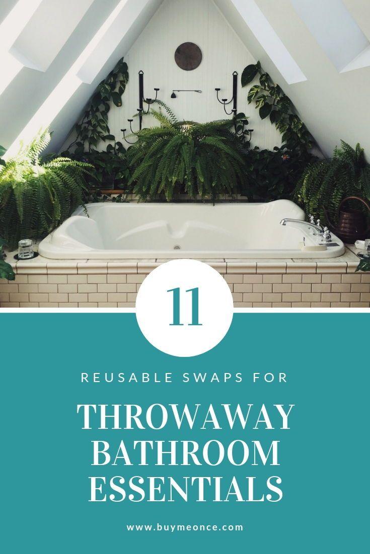 The Zero Waste Home: 11 Alternatives for Bathroom Essentials