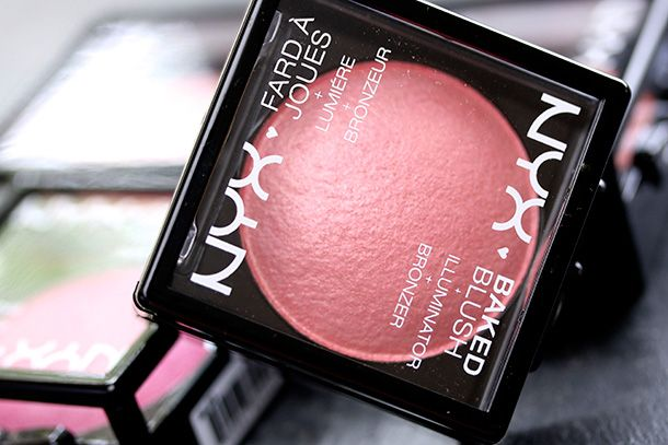 NYX Baked Blush, Jan. 2014 (only $7 each)