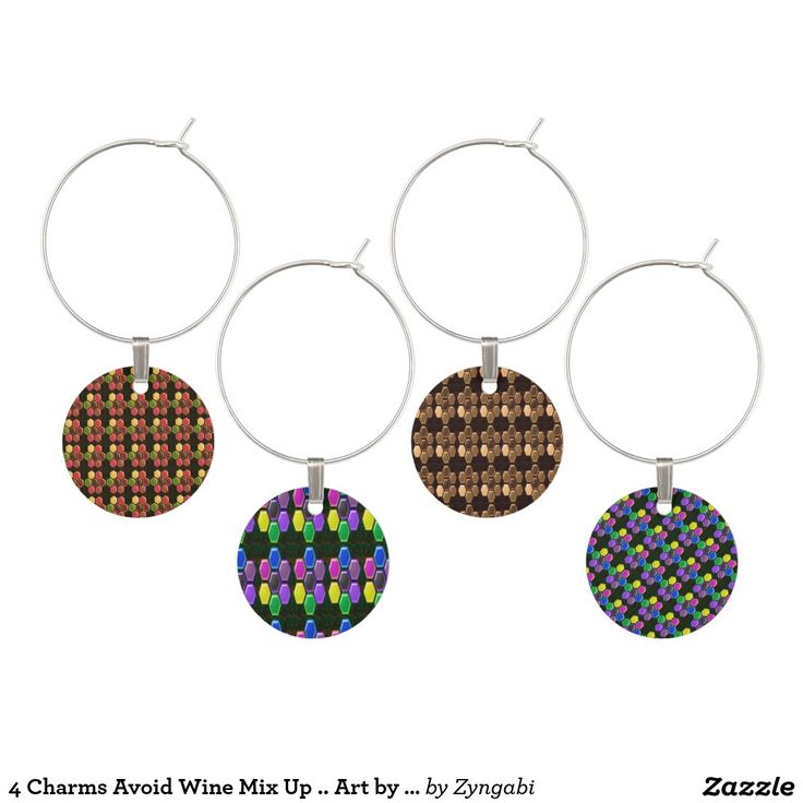 4 Charms Avoid Wine Mix Up .. Art by NavinJoshi