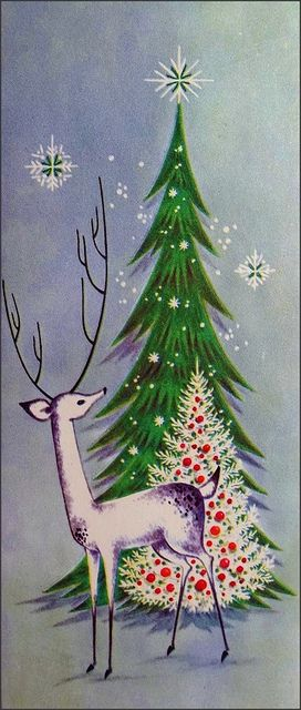 1960s christmas card by 1950sUnlimited