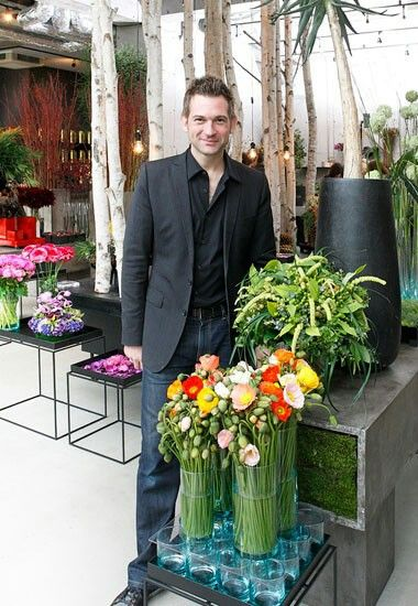 NICOLAI BERGMANN JAPAN BASED DANISH FLOWER ARTIST