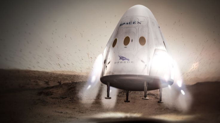SpaceX plans to send its Dragon spacecraft to Mars as early as 2018, the company announced today — marking a major first step toward CEO Elon Musk's goal of sending humans to the Red Planet. The...