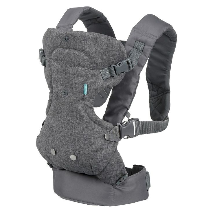 Infantino Flip Advanced 4-in-1 Convertible Baby Carrier - Gray target $30