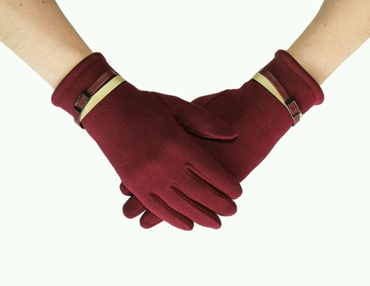 Women's Sporty Fashion Glove with Active Smart Touch Medium Cherry Red. in Clothing, Shoes & Accessories, Women's Accessories, Gloves & Mittens | eBay