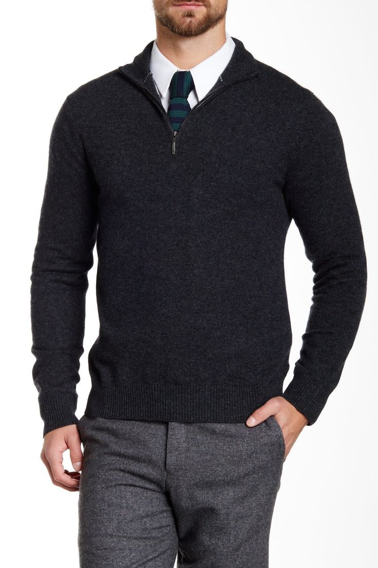 Best 25  Men's half zip sweaters ideas on Pinterest | Zip sweater ...