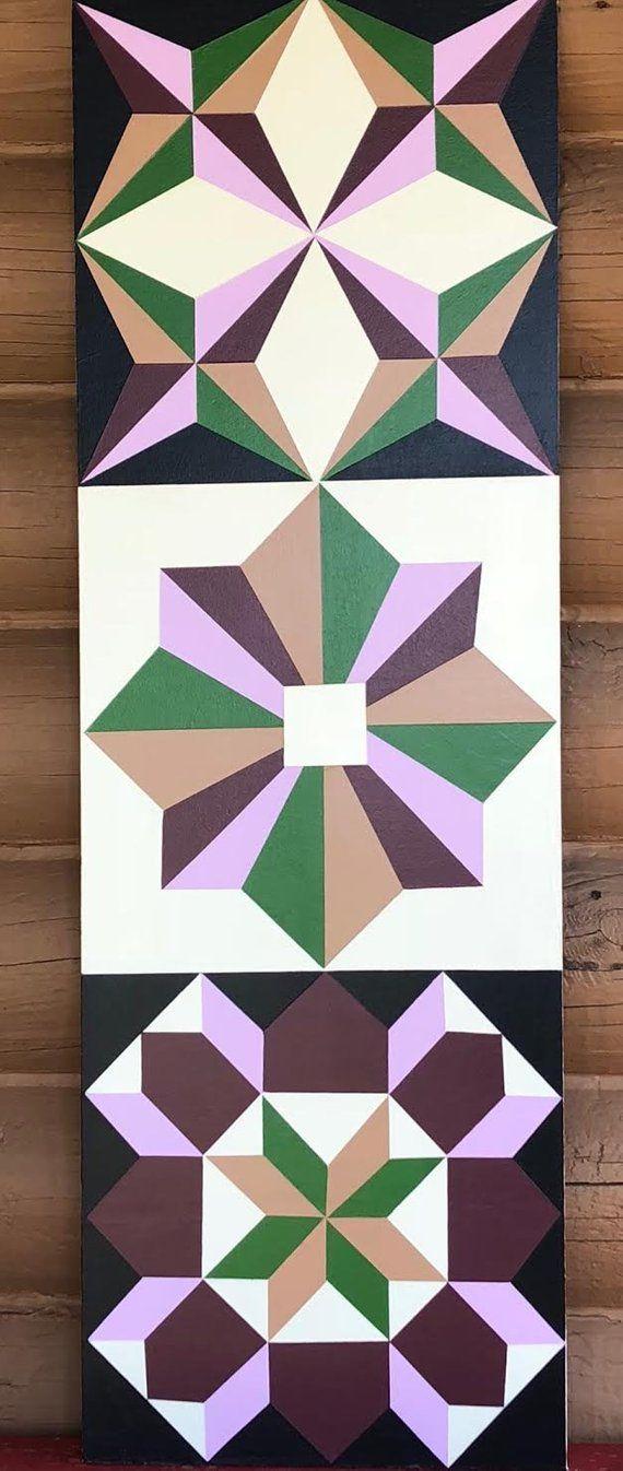 Barn Quilt 3\' X 1\'   Pinterest   Nähen auf Papier, Papier und Nähen