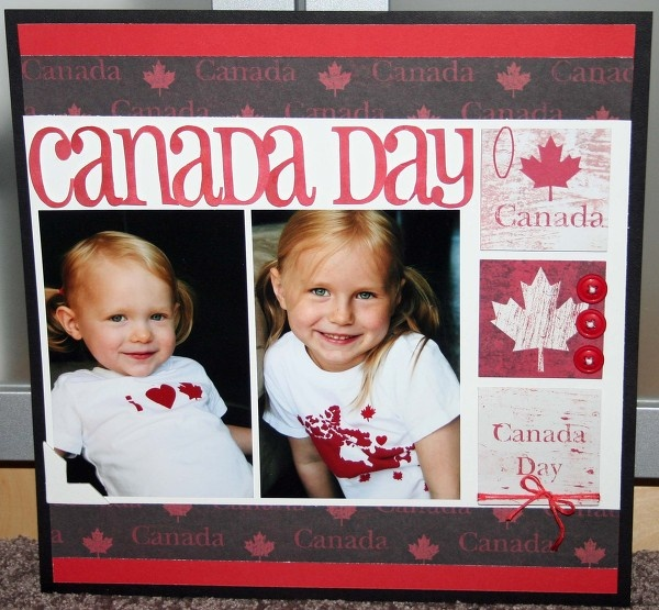 Canada day...cute idea