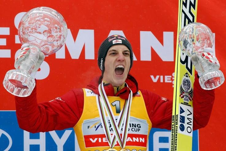 Austrian Gregor Schlierenzauer. March 2013. Congrats!