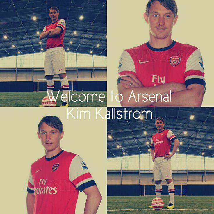 Kim Kallstrom Signs on Loan or Arsenal Montage.