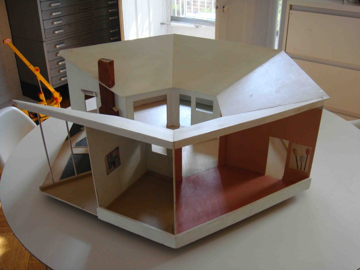 172 Best Images About Mid Century Doll Houses On Pinterest