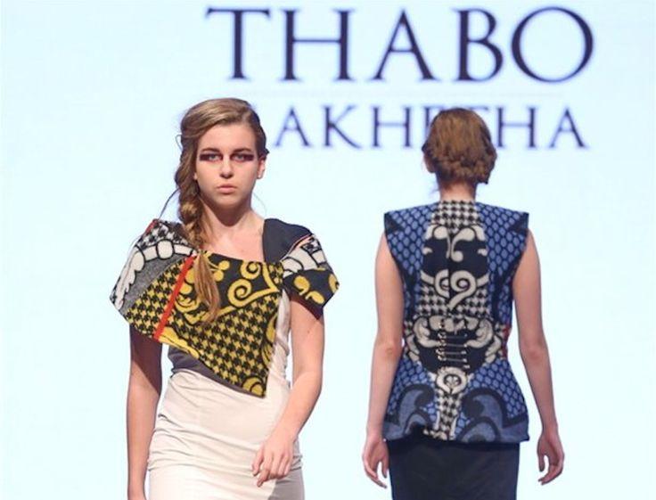 Thabo Makheta- South African Fashion Designer