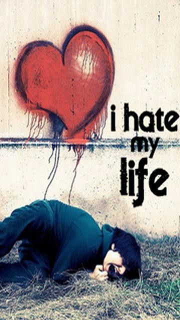 Download I Hate My Life Wallpaper Free Download Gallery Adorable