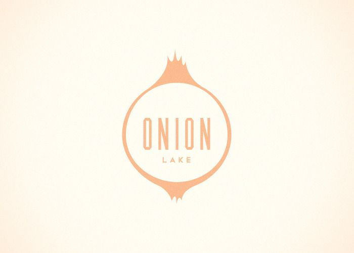 Nicole Meyer - Onion Lake logo (from the Branding 10,000 Lakes project)
