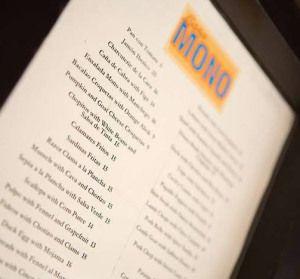 Casa Mono - New York City Mario Batali's Spanish Tapas restaurant. See the mouth-watering review here. Get napkins... http://vanillabeanonline.wordpress.com/2011/09/21/casamono-2/