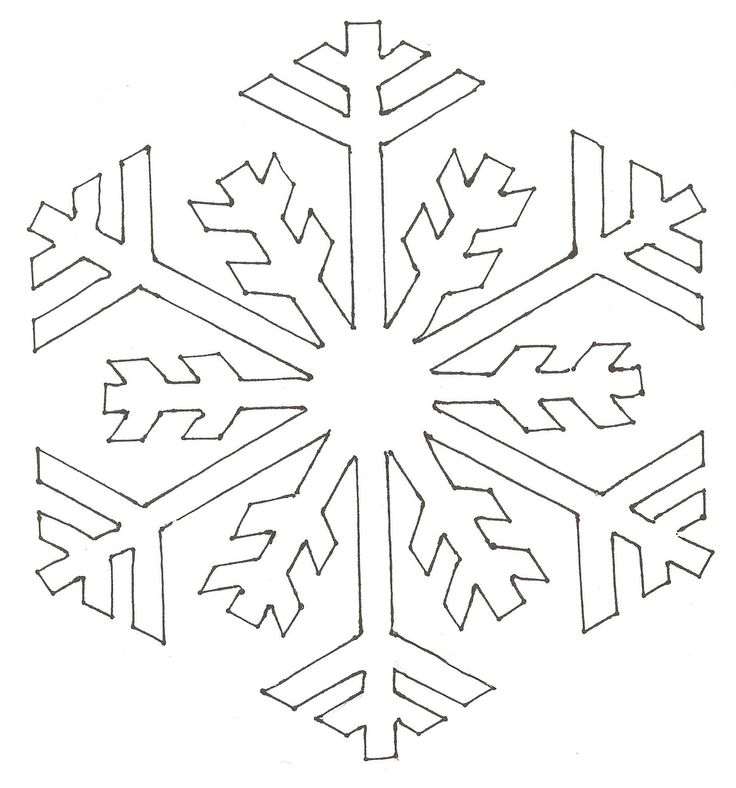Snowflake Patterns To Cut Out | ... Killers: CRAFTS WITH ANASTASIA--STENCILED SNOWFLAKE HOT DISH TRIVETS