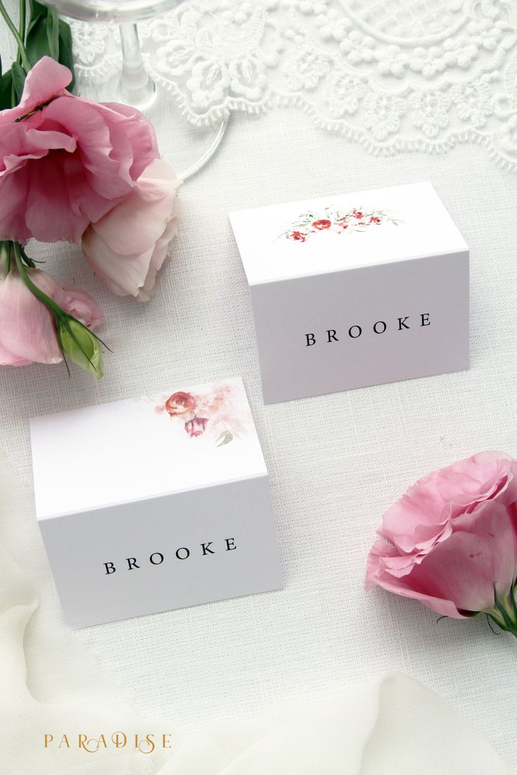 wedding table name card size%0A Joelle Watercolour Flowers Place Cards  Name Card  Escort Card  Folded Cards  Wedding Table  Place Cards Digital file or Printed Place Cards