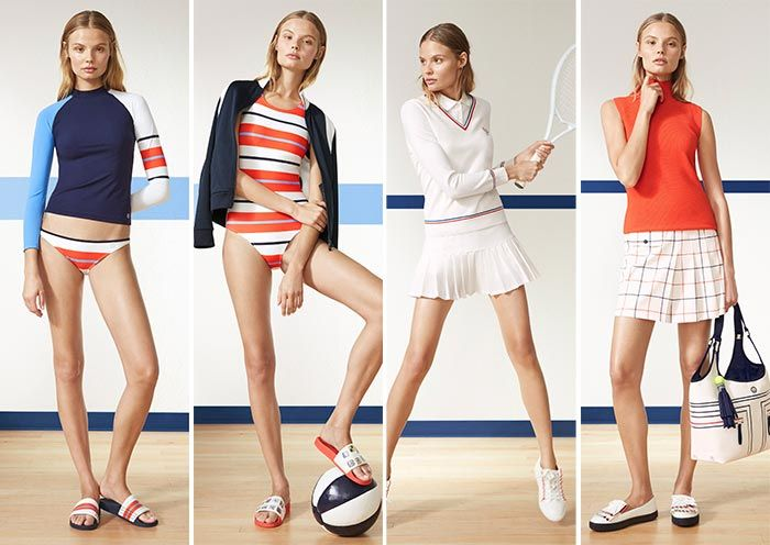 Tory Burch Sport Spring 2017 Collection   Fashionisers