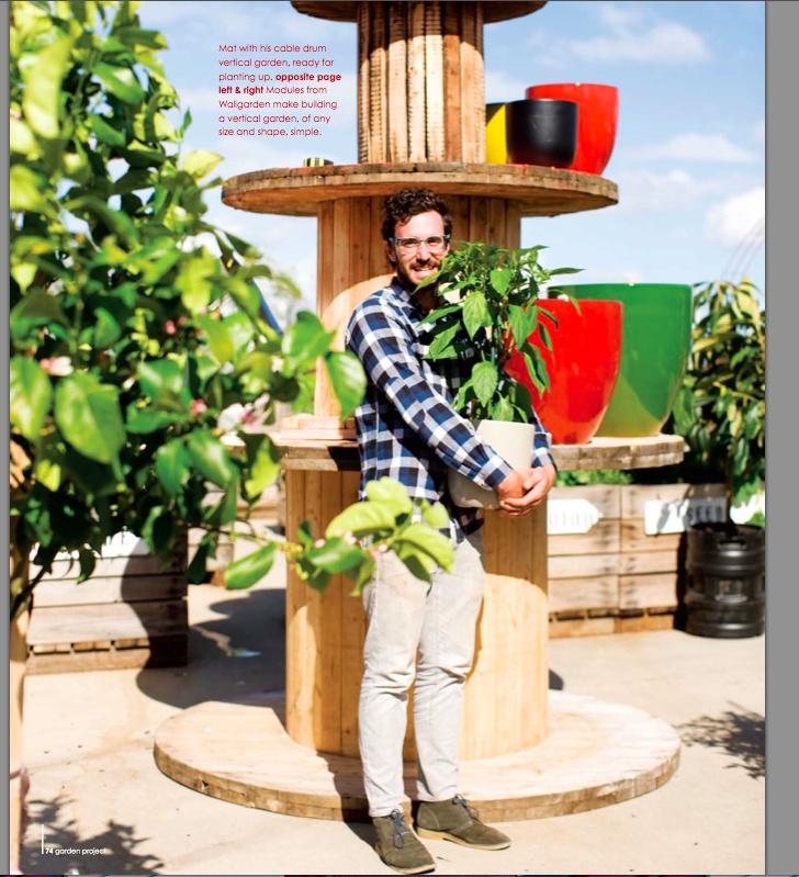 vertical veggies - design: Mat Pembar