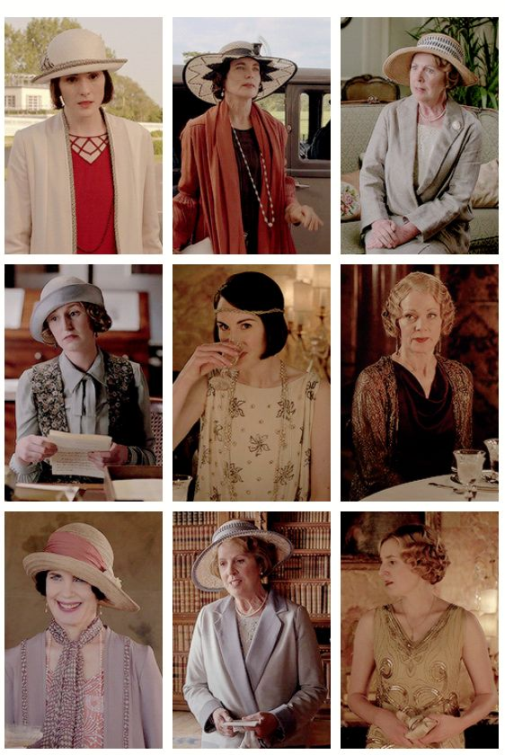 the crawley ladies' costumes in downton abbey – season 6 episode 7 ..