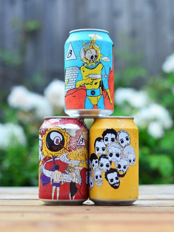 Cool design for beavertown brewery, love the design and the branding is spot on,…