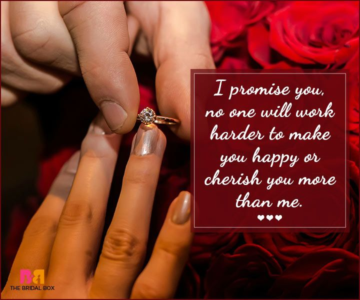 Marriage Proposal Quotes - No One Will Work Harder