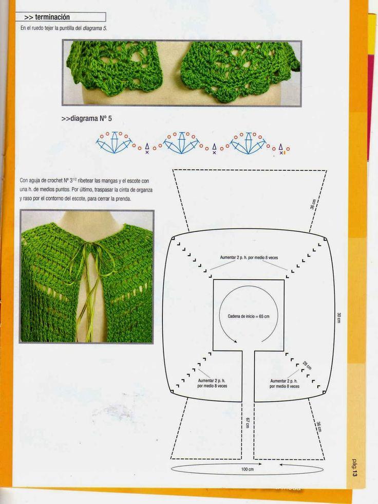 Mejores 28 imágenes de Crochet tunecino en Pinterest | Crochet ...