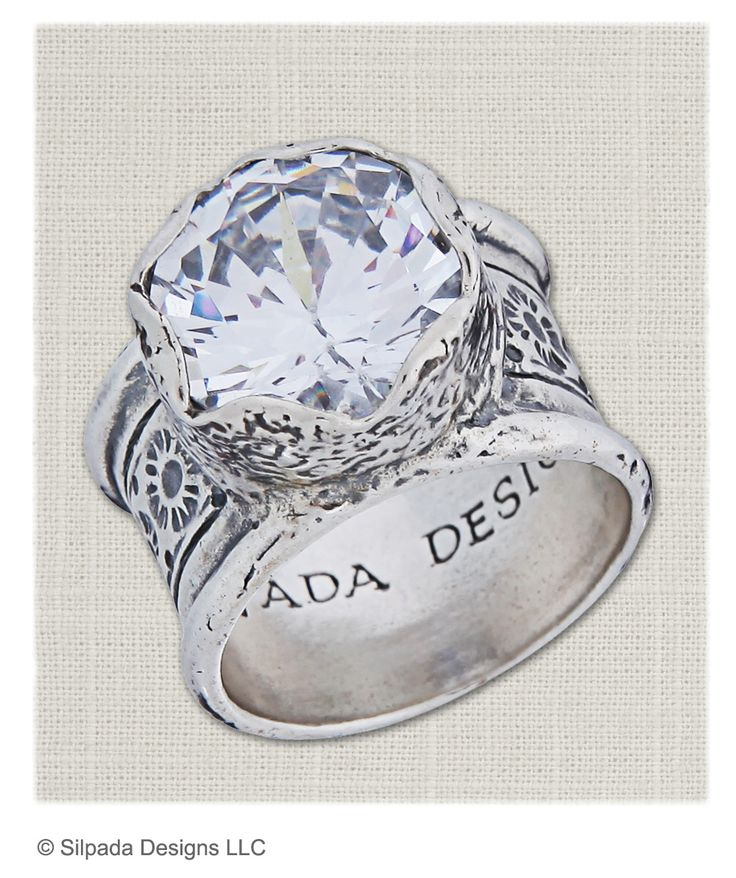 Love this ring, and you will too.  It truly makes a statement!  I sell Silpada sterling silver jewelry.