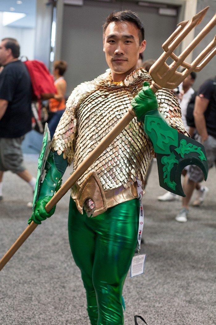 Aquaman from SDCC 2013! - Imgur