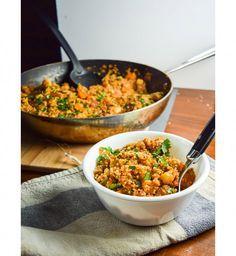 One Pot Pasta : Quinoa aux légumes façon tandoori