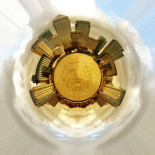 How To Create Stereographic Projections With Photoshop