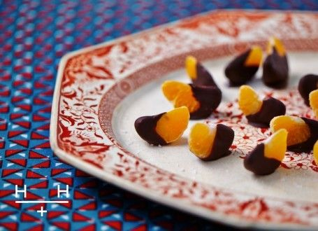 Dark chocolate salted clementines #TheArtofEatingWell