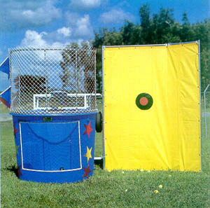 Dunk tanks are just what you need at your next fundraising event! #Partyidea