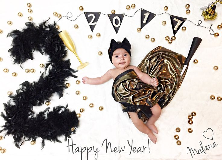 New Years baby pictures / 2 months old photo ♠️
