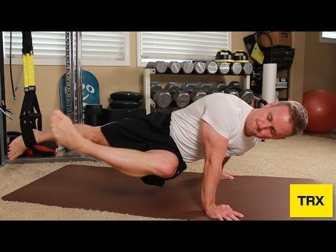 TRX Core Exercise - YouTube challenging!!!