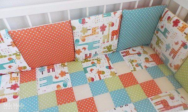 \бампер-подушки для кровати ребенка