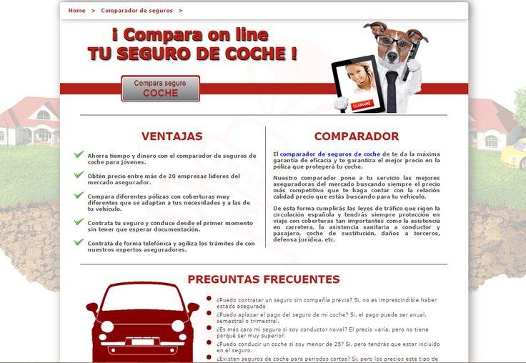 El mejor comparador de seguros de coche para  obtener la mejor póliza con un precio increíble