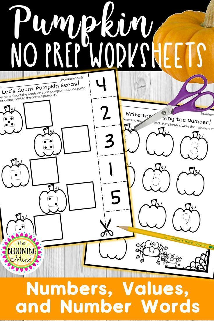 Pumpkin Math Worksheets Go Math Kindergarten Kindergarten Math Worksheets Addition Kindergarten Math Worksheets