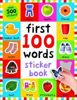 First 100 Words Sticker Book cover image