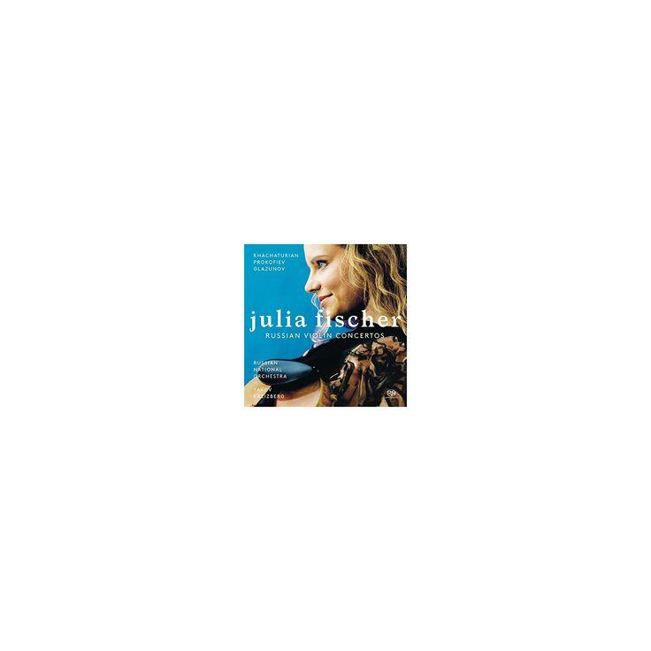 Julia Fischer - Russian Violin Concertos (CD)