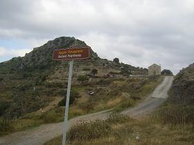 De antieke stad Polyrrinia in het westen van Kreta, Griekenland.  Photo by: Hans Huisman
