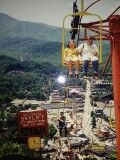 My mom & me sky lift Gatlinburg, TN in 1992.