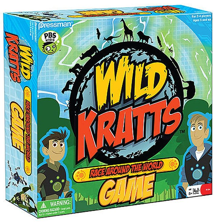 Players play the part of the Kratt Brothers and their friends, racing around the world collecting Creature Power Suits. Along the way they unlock secret passages on the game board that allow players to bypass their opponents.<BR><BR><li>Wild Kratts combines science education with fun and adventure as the Kratt Brothers and their friends travel to different animal habitats around the world.</li><li>Wild Kratts is the #1 kids show on PBS.</li>