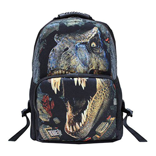 Tinksky 3D mochila Escuela unisexo mochila recorrido 3D de la impresión Animal bolso niños mochila mochila Mochilas y bolsas escolares https://images-eu.ssl-images-amazon.com/images/I/515s4UfWn9L.jpg Características -Tamaño: 42 * 28 * 14 cm-Peso: 0,4 kg-Vivid 3D animal patrón diseño, llamativo e impresionante-De ancho y mango caucho acolchado correa de hombro ajustable, durable y cómodo para llevar a-Acolchado inferior para proteger cosas con seguridad-Un compartimient
