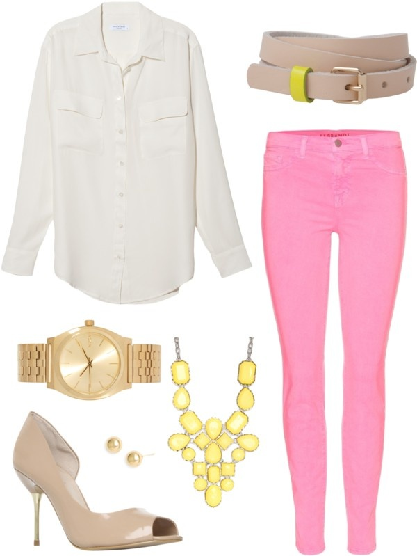 """""""candy pink jeans 