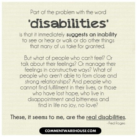Best Disability Images On   Disability Quotes