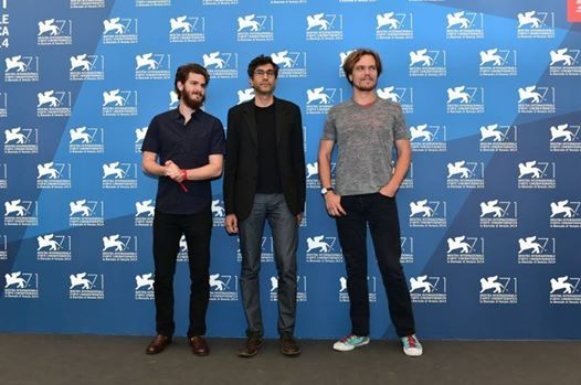 """71st #Venice Film Festival: laughs for """"She's funny that way"""" by Bogdovich. Andrew Garfield arrives in Venice Lido for """"99 Homes""""   Read more http://en.venezia.net/shes-funny-that-way-and-99-homes-venice-film-festival-2014.html"""