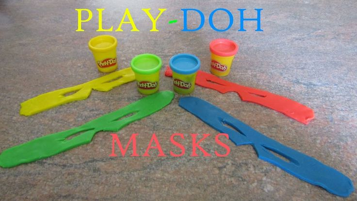 PLAY-DOH MASKS