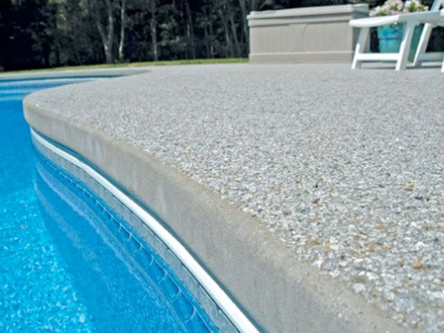 Pool Coping Cantilever Pool Coping Pool Landscape Design Pool